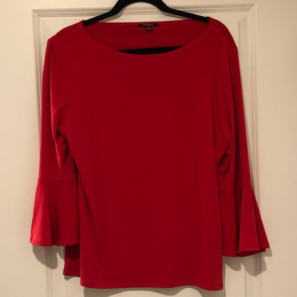 🔥4/$20🔥Premise 3/4 sleeve blouse- coral